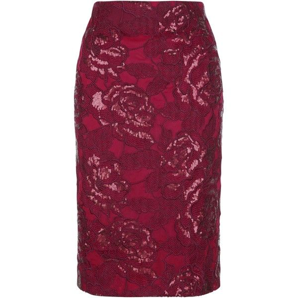 Fenn Wright Manson Petite Volcano Skirt (4.235 RUB) ❤ liked on Polyvore featuring skirts, petite, sequined mini skirt, sequin maxi skirt, floral maxi skirt, floral pencil skirt and maxi pencil skirt