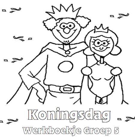 Koningsdag Werkboekje Groep 5