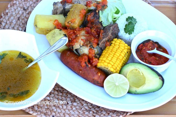 Puchero Santafereño (Colombian Beef, Chicken and Pork Stew)