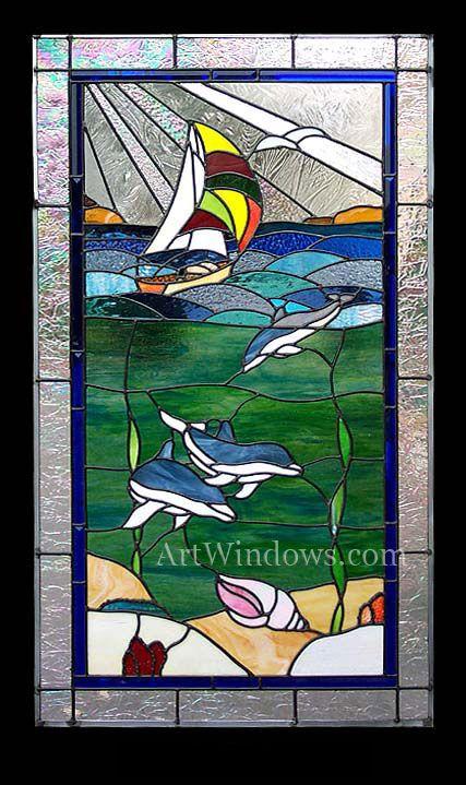 7345 San Francisco Seascape 1  Artwindows.com