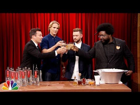 The Tonight Show Starring Jimmy Fallon: Justin Timberlake Teaches Jimmy How to Make a Tequila Cocktail