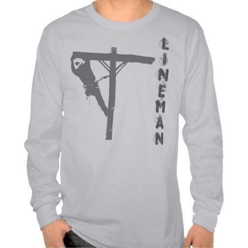 Gray Lineman shirt.