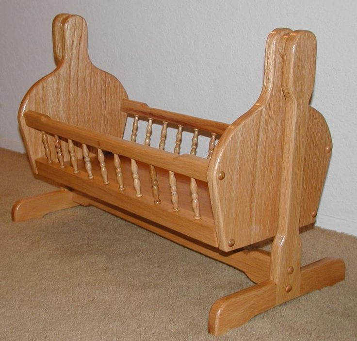 Free Doll Cradle Plans Woodworking Seeking to obtain helpful hints with regards to working with wood? http://www.woodesigner.net has them!