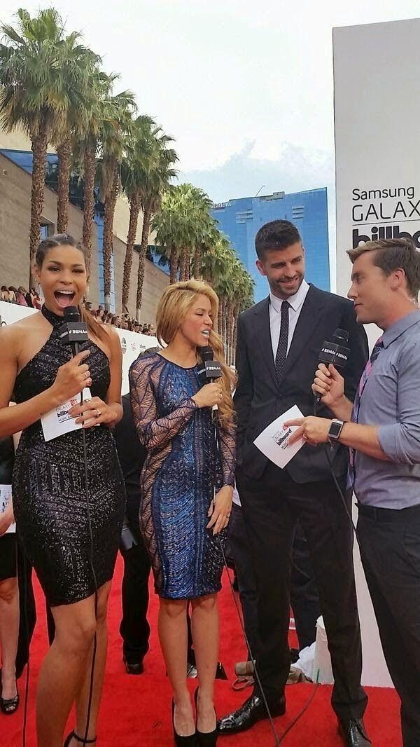 LAS CADERAS TABASCO: Fotos: Shakira y Gerad Piqué Billboard Music Award...