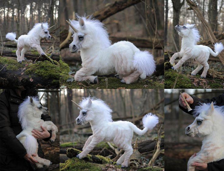 Ooak Poseable Art Doll Unicorn By Fellkunst On Deviantart