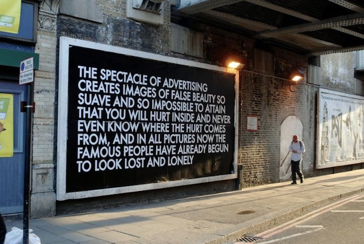 Urban Poetry - My Modern MetropolisUrban Poetry - My Modern Metropolis  Rather than writing down his thoughts in a notebook, like the average person, Robert Montgomery chooses to take a slightly more unconventional approach. The London-based artist hijacks large billboards and back-lit bus stops to share urban poetry with the world around him. Montgomery also builds his own illuminated signs. Clearly, he has a lot to say...