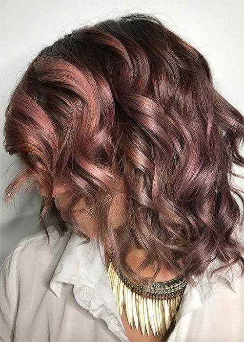 20 Pretty Chocolate Mauve Hair Colors: Ideas to Inspire | Fashionisers