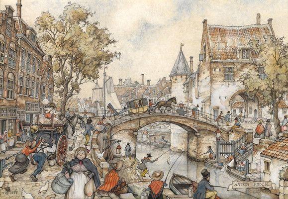 Anton Pieck    Utrecht