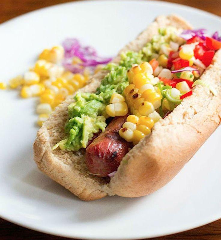 Le hot dog mexicain au maïs