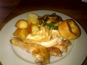 The Sunday roast at Elbow is magnificent! :-)