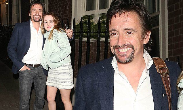 Richard Hammond enjoys a night out with daughter Isabella | Daily Mail Online