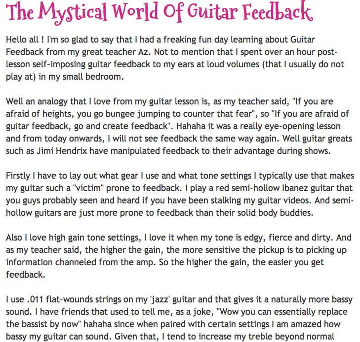 best sapphire ng guitar tabs images guitar the mystical world of guitar feedback blog post contains learning points from guitar