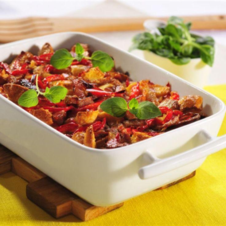 Warzywa zapieczone w kremowej śmietanie nabierają niepowtarzalnego smaku... Sięgnij po Rosół drobiowy WINIARY, przygotuj gęsty sos i zalej nim składniki zapiekanki z kurczakiem, a już po kilkunastu…