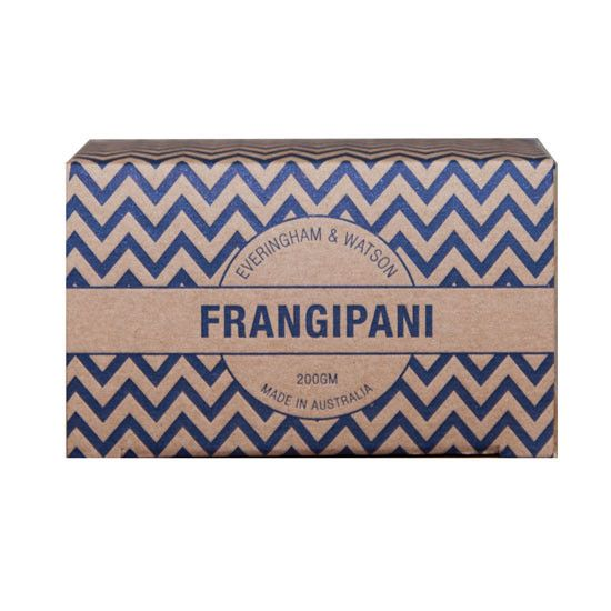 Frangipani Soap by Everingham and Watson