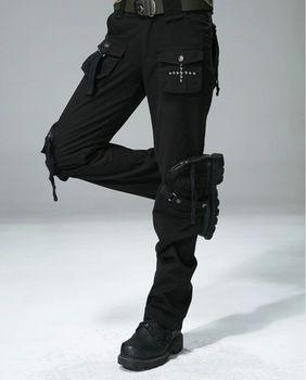 Gratis Knight mujer exterior senderismo deporte Cargo Pants Casual mujeres de bolsillos rectos pantalones militares tamaño 27-31