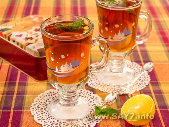 Ароматный чай со специями