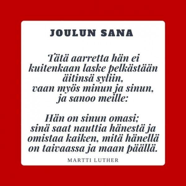 Mika Tuovisen kirje ystäville joulukuussa 2015