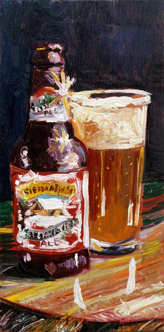 Beer Art Print of SIERRA NEVADA Celebration Ale by RealArtIsBetter, $35.00