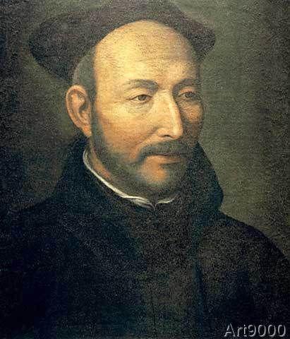 Jacopino del Conte - Ignatius of Loyola / Painting del Conte