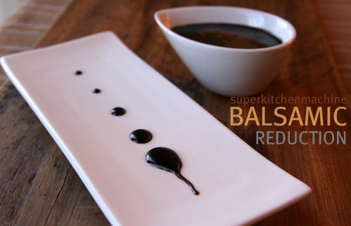 Balsamic Vinegar Reduction Thermomix Recipe