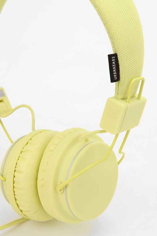 Urbanears Headphones - Citrus - Urban Outfitters