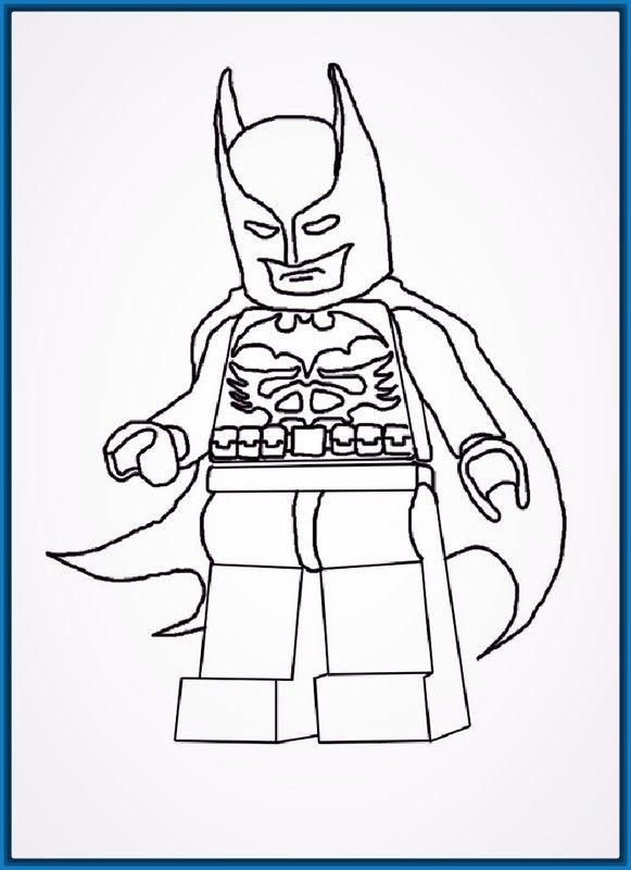 Resultado de imagen para caricaturas para colorear e imprimir batman