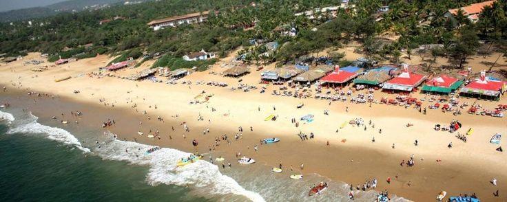 пляж Кандолим - Северный Гоа, Индия