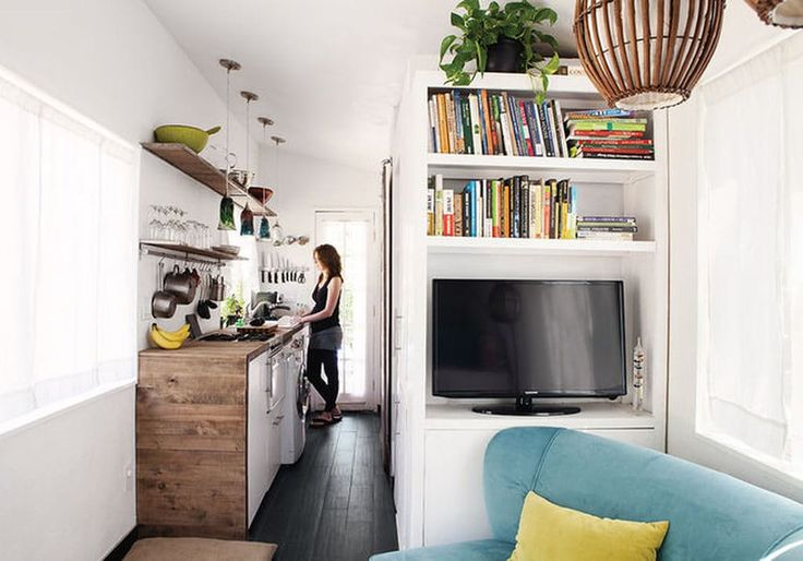 5 Brilliant Small Space Solutions Inspired by Tiny HomesWhether you have a small home because you've voluntarily decided to live with less, or because the astronomical rent in your city made the choice for you, there are space-saving lessons to be learned from the tiny home movement. Here's a look at five design tips I've picked up from admiring little houses—plus, how to use them to create a little home you'll love.  → Read this post