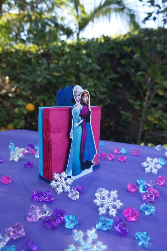 Disney Frozen Elsa And Anna Table Decoration Wood Napkin