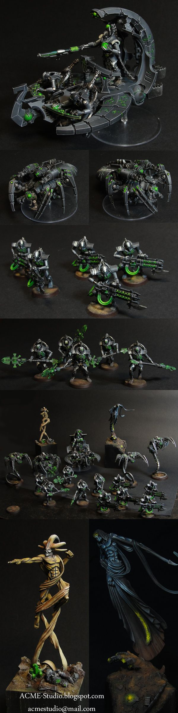 CoolMiniOrNot - Necron Army by ACME-Studio