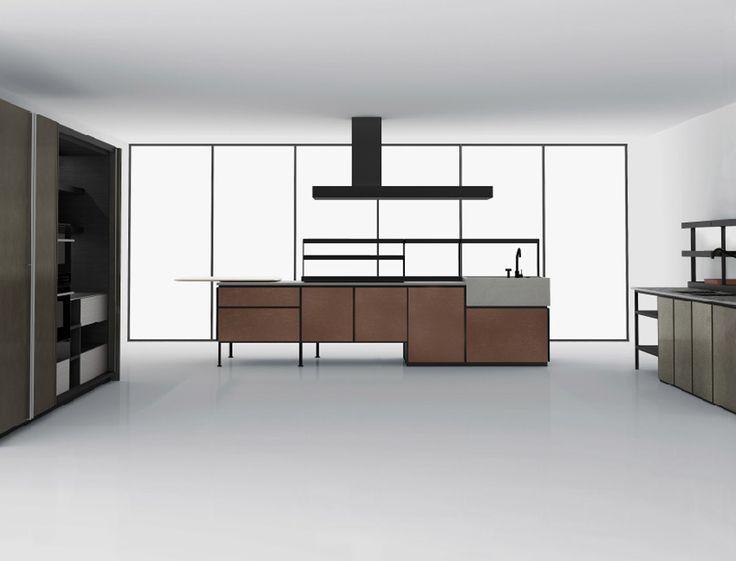 die besten 25 freistehende k che ideen auf pinterest. Black Bedroom Furniture Sets. Home Design Ideas
