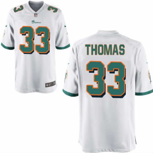 Daniel Thomas Jersey Miami Dolphins #33 Youth White Limited Jersey Nike NFL Jersey Sale