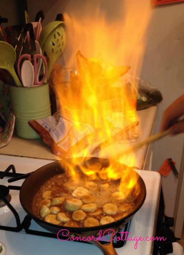 Mexican Food Ideas For Dinner Party Part - 39: Flaming Bananas At Our Mexican Dinner Party - Lots Of Great Ideas, Table  Setting,