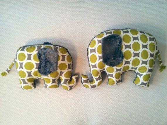 Mother and baby elephant set stuffed toy elephant plush toy