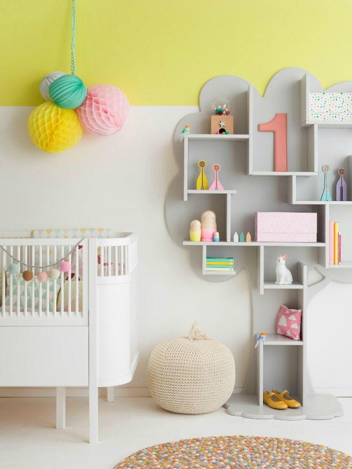 Tree shelf for a child's room