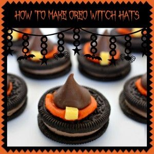 Recipe: How To Make Oreo Witch Hats