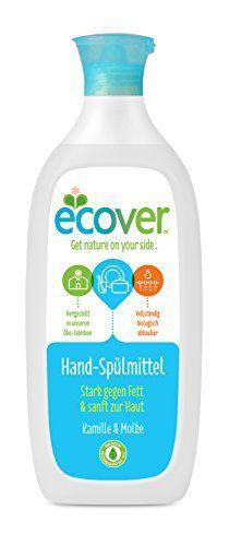 Ecover Lot de 3 liquides vaisselle écologiques à la camomille et au petit-lait 3 x 500ml: Nettoie et dégraisse efficacement Pour une…