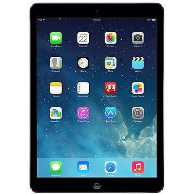 *NEW* Apple iPad Air 1st Generation 32GB, Wi-Fi, 9.7in - Space Gray