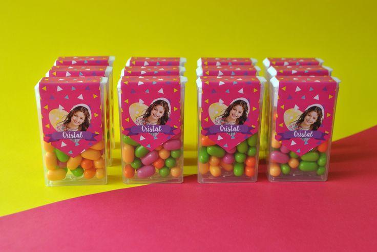 Dulces personalizados Soy Luna! #dulcespersonalizados #candybar #tictac