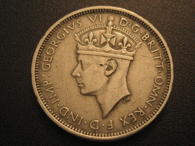 1939 BRITISH WEST AFRICA 1939-W 3 PENCE-OBVERSE SIDE