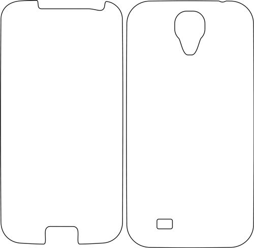 Samsung Galaxy S4 IV Full Body Skins   Thinking of making a DIY paper print for transparent case. Can this be used as a template?! Needs some size modification/scaling