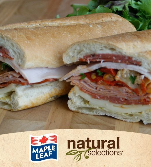 Sandwich Muffaletta #NaturalSelections @Maple Leaf®
