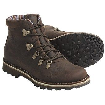 cute hiking boots Merrell Wilderness Valley Lace-Up Boots - Leather, Insulated (For Women) in Brown