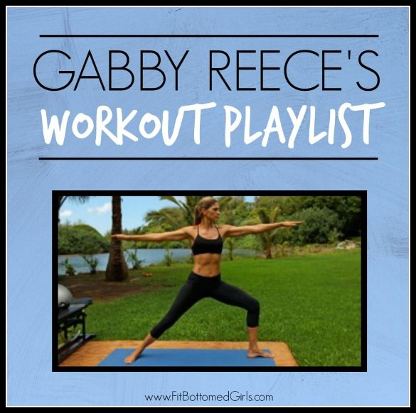 If you've ever wondered what helps motivate Gabby Reece, you're in luck because today we have her workout playlist!
