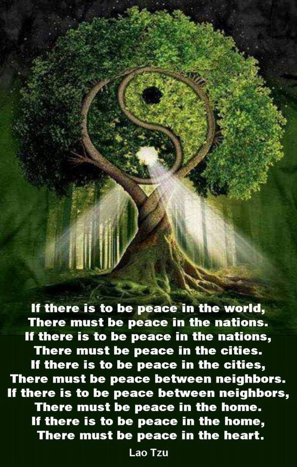 If there is to be peace in the world, There must be peace in the nations. If…