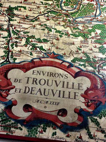 My first day in Deauville Normandy