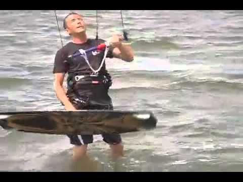 KiteboardingKitesurfing Coach Kite and HQ Hydra Power kite video #itesurfing #kiteboarding_trainer_kite #kitesurf_kite_surfing