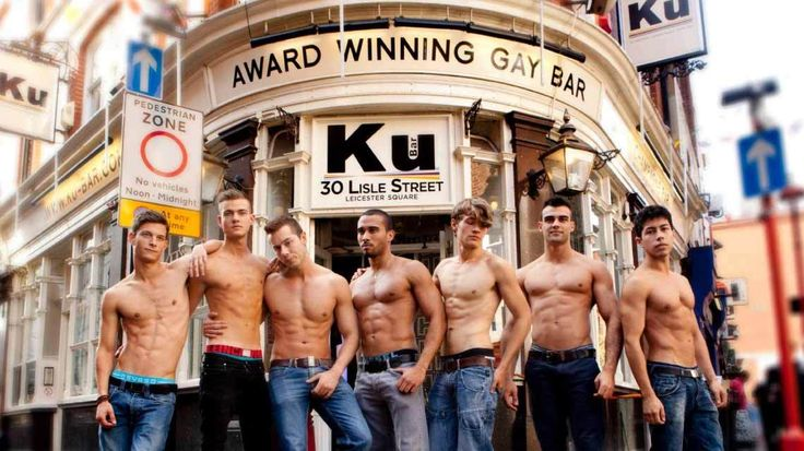 London gay bar district