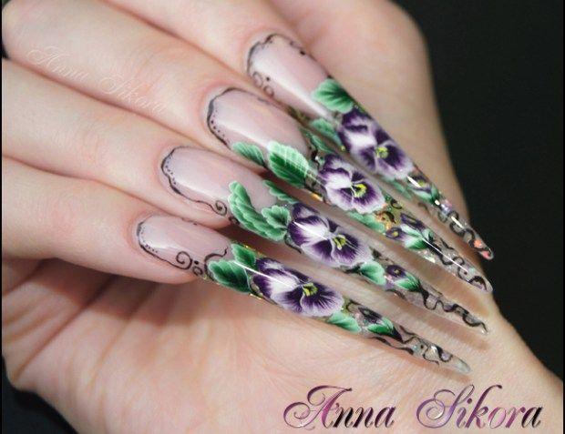 11 Cute Acrylic Nails Designs. Long Acrylic Nails Designs - The 25+ Best Long Acrylic Nails Ideas On Pinterest Acrylic Nails