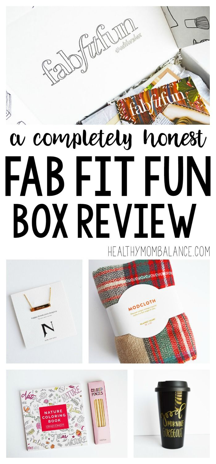 A completely honest review of my first ever FabFitFun Box. I got to try the FabFitFun Editor's Box for winter 2016/2017 and here's what I thought.